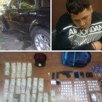 Policia Municipal de Toa Alta arresta sujeto con pistola chipiada y Drogas