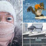 """""""Oymyakon"""", volcán de lodo y un auto de nieve, lo más curioso de la semana"""