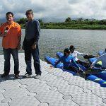 Representante Aponte Dalmau inaugura Muelle Flotante en Canóvanas