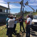 Vista ocular ante falta de semáforos en Río Grande