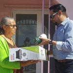 Continúa entrega de suministros en Ceiba