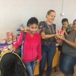 Primera dama de Río Grande entrega artículos para infantes