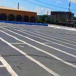 Continúan los trabajos de mejoras y reconstrucción en la Plaza del Mercado de Humacao