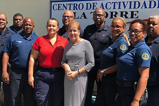 Aumentan salario a la Policía Municipal de Loíza