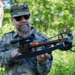 hunter with crossbow