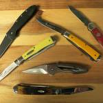 collection of pocket knives