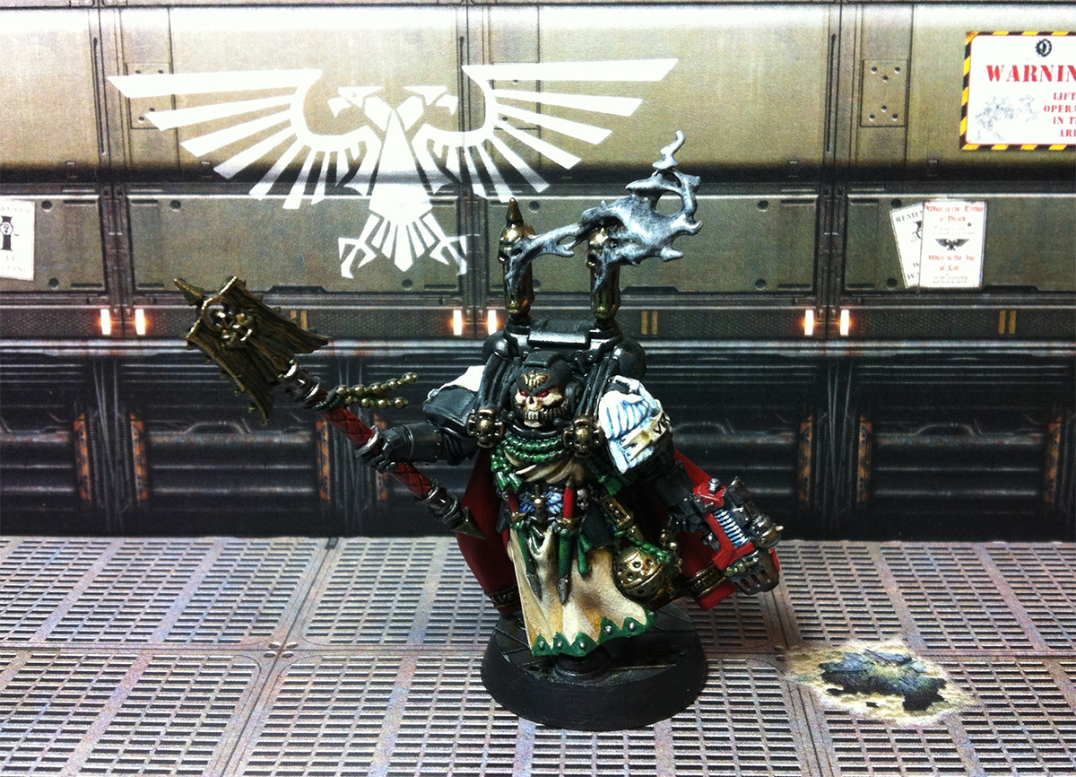 My first ever contribution to the ETL, Interrogator-Chaplain Seraphicus