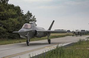 Second F-35 Lightning squadron for UK