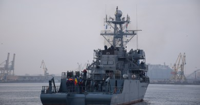 Romanian Minesweeper joins NATO Naval Group SNMCMG2