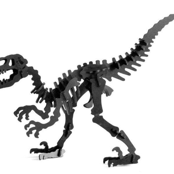 Boneyard Pets Velociraptor -Black