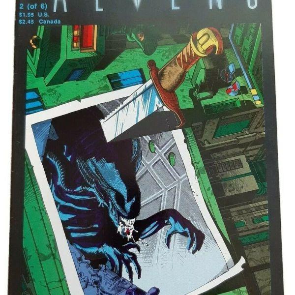Aliens #2 (of 6), Second printing, Dark Horse Comics