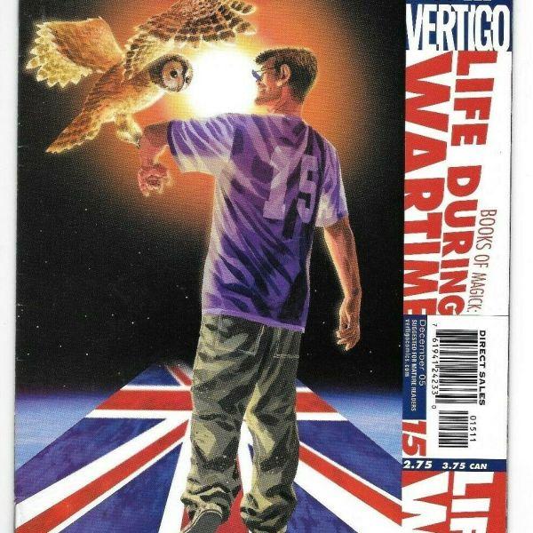 Books of Magick Life During Wartime Issue 15, Vertigo Comics