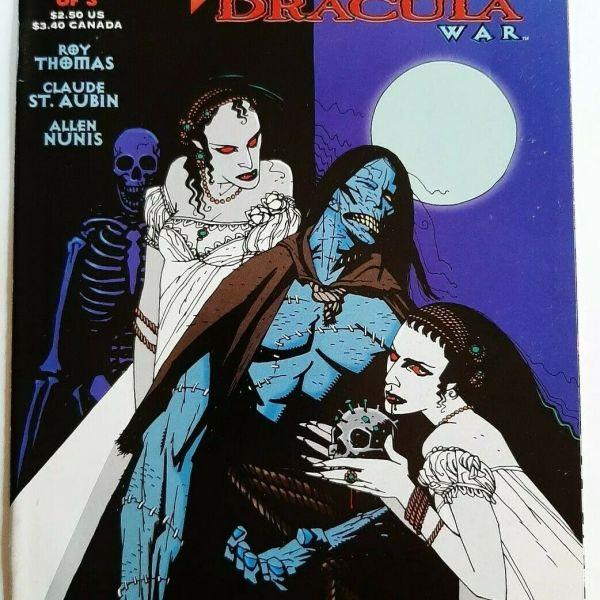Frankenstein Dracula War 2: The Grand Alliance, Topps Comics