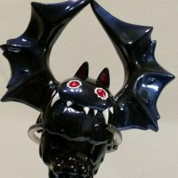 Nightmare Black Bat Liquid Sofubi from Instinctoy
