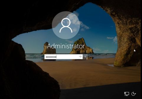 Login to Windows Server