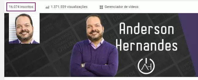 canal do youtube anderson hernandes