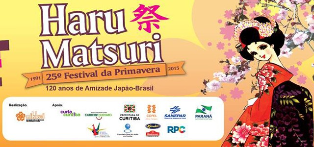 Haru Matsuri 2015 - Programação do evento