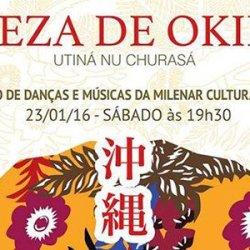 Espetáculo único traz a beleza da dança de Okinawa para Curitiba