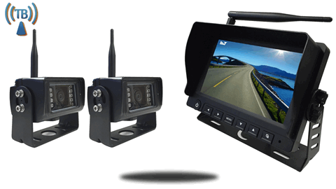 7 Inch Monitor with 2 Built In Wireless Mounted RV Backup Cameras?w=1080&ssl=1 digital wireless backup camera installation on a fifth wheel tadibrothers backup camera wiring diagram at bayanpartner.co