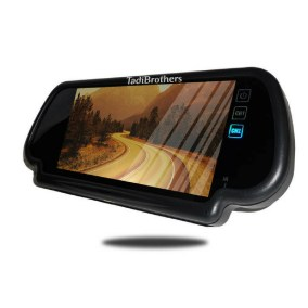 5-7 inch clip on rear view mirror