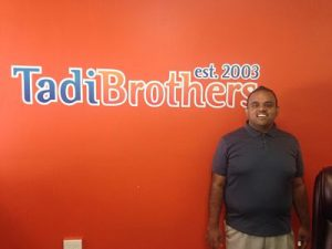 TadiBrothers employee, Subodh from bestbuddies.org