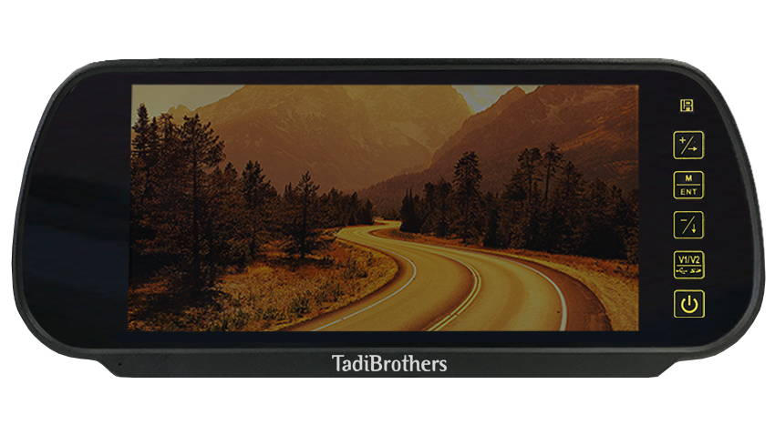 best aftermarket mirror monitor