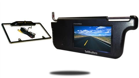 Wired License plate camera systems