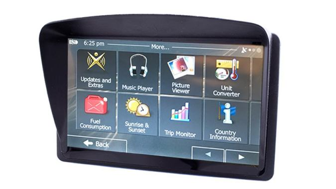 7 Inch Dash Mounted GPS Navigation System with optional Backup Camera Car navigation system   TadiBrothers   SKU56863