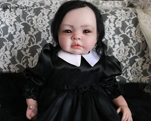 Today's Question: Is it possible to make beloved Tad-family hero Wednesday Addams so creepy as to be downright disturbing? Answer: Yes. Yes it is.