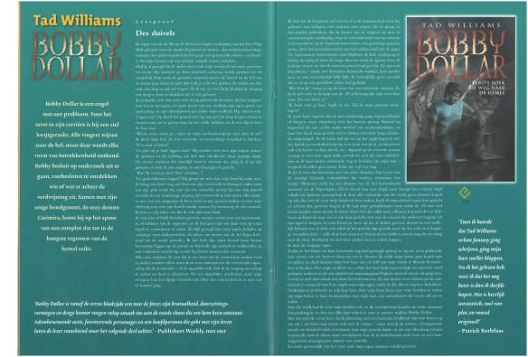 BOBBY DOLLAR, Dutch cover in Luitingh Fantasy magazine, 12-11-12