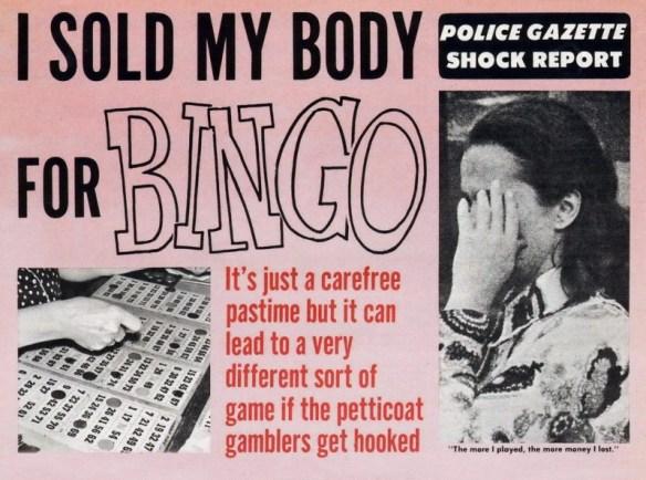 Petticoat Bingo