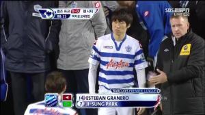 Park Ji Sung Unhappy