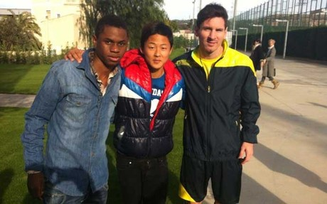 Lee Seung-Woo & Messi & Braima Fati
