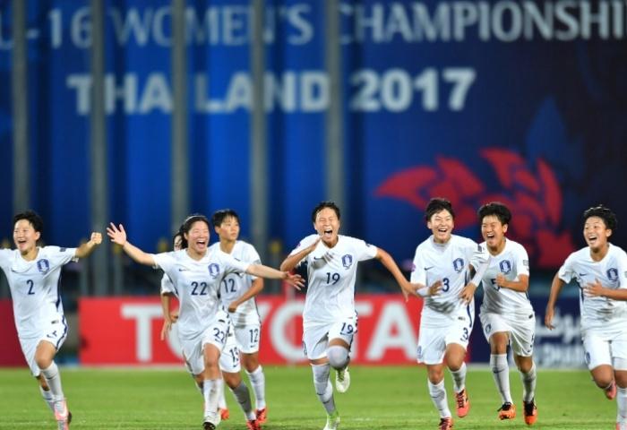 Womens U17 win vs Japan
