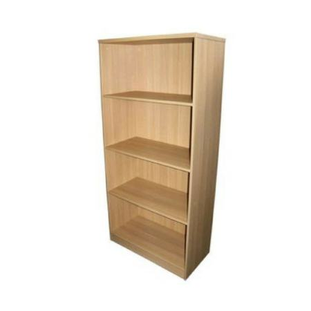 Intec 4 Tier Bookcase
