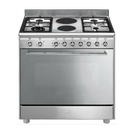 Smeg 115L 6 Burner Gas Electric Cooker SSA92MAX9