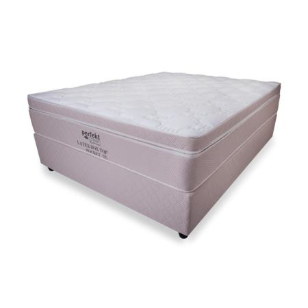 Perfekt Latex Box Top Queen Bed Set