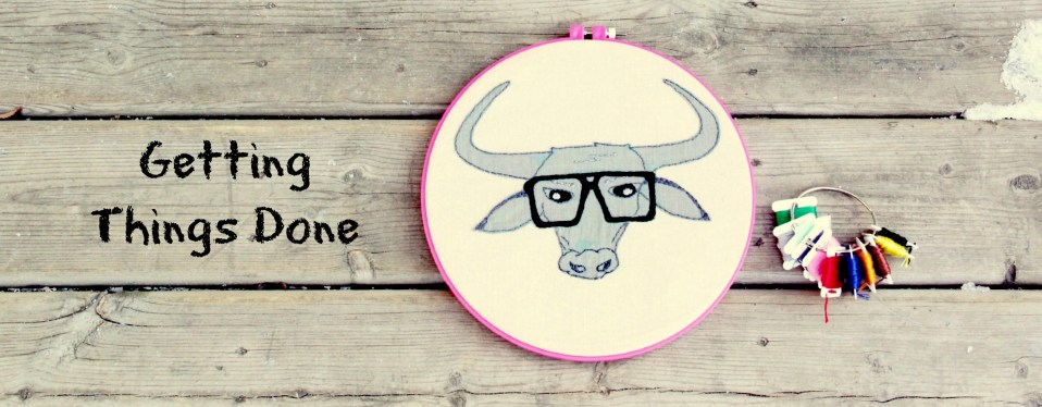 Embroidered Water Buffalo