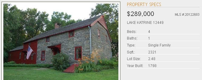 Old Stone Homes For Sale Ulster County NY With Character