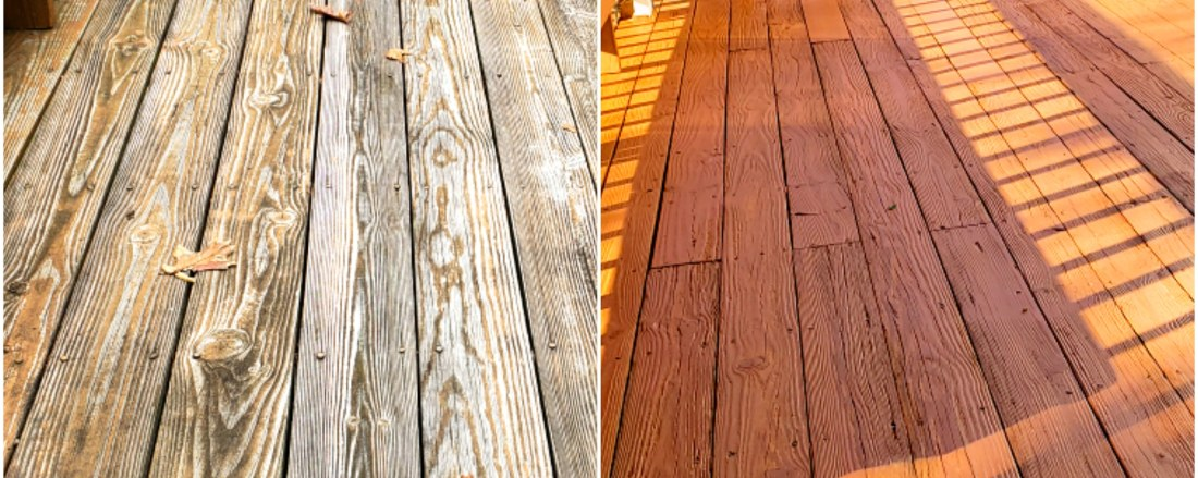 Shelton CT Deck restoration