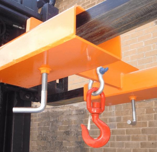 Adjustable Fork Mounted Hook