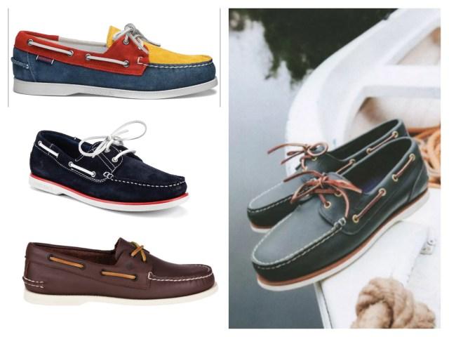 I mocassini da barca o boat shoes
