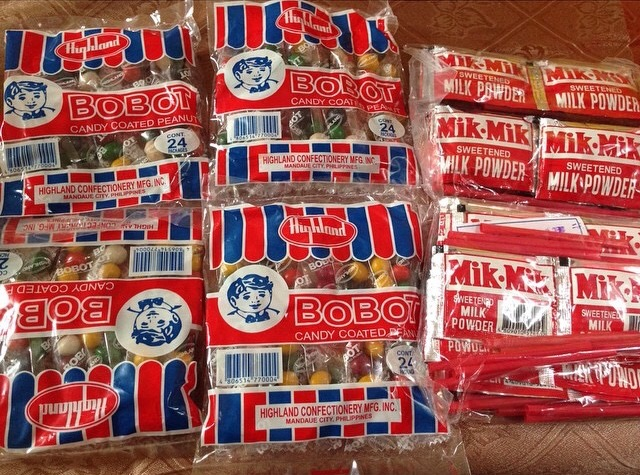 Filipino Candy Bobot & Milmik