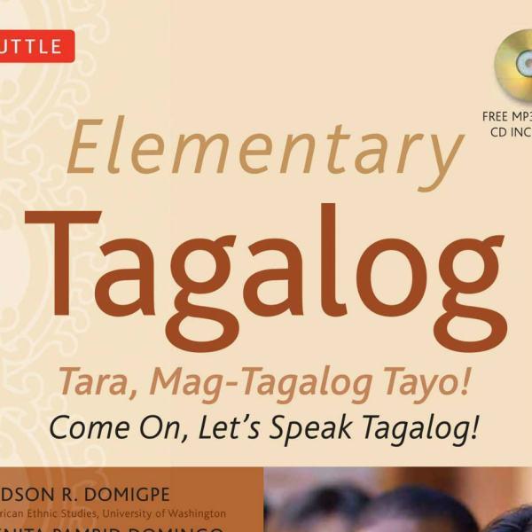 Elementary Tagalog Book / CD