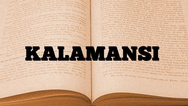 KALAMANSI