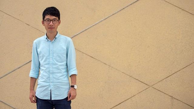 Der Hongkonger Aktivist Nathan Law (Archivbild).  Bildquelle: AFP