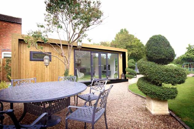 Green Retreats - 8mx3.5m Edge Garden Room