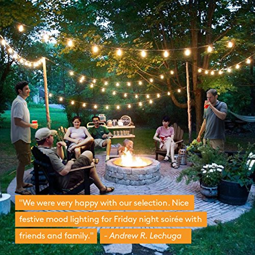 Brightech Ambience Pro Commercial Grade Outdoor Light Strand With