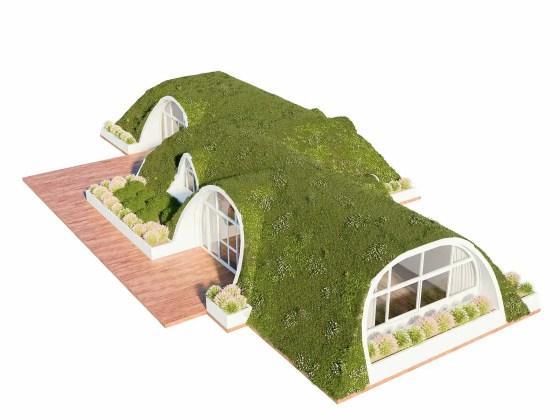 Compass Green - FRP Homes - Denali