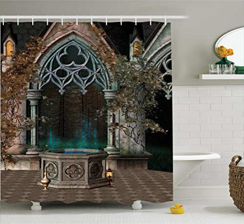 Gothic House Decor Shower Curtain